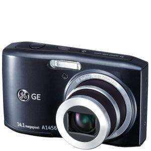 GE A1456W Digital Camera - Black (14MP, 5 x Optical Zoom, 2.7 Inch LCD)