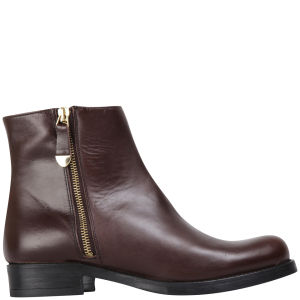 KG Kurt Geiger Women's Sadie Leather Ankle Boots - Brown