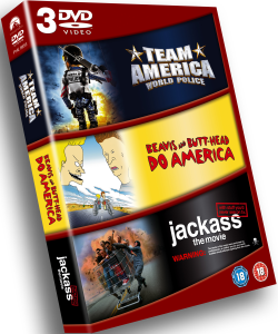 Team America/Beavis And Butthead/Jackass The Movie