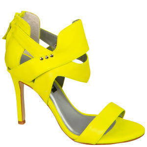Senso Women's Xixi Heeled Sandals - Fluro Yellow