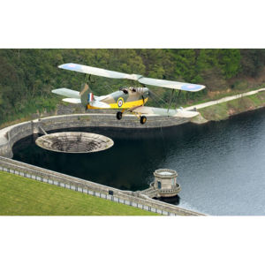 Dambusters Tiger Moth Flight with Framed Photo and DVD Special Offer