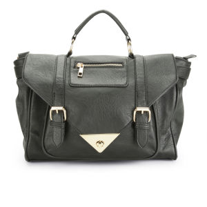 Thomas Calvi Women's Mia Satchel - Black