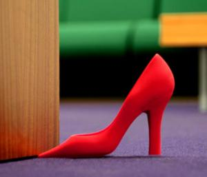 Foot in the Door - Red Stiletto