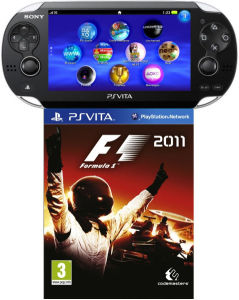 PS Vita (Wi-Fi Enabled) Includes: F1 2011