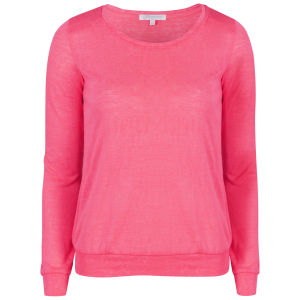 Glamorous Women's Long Sleeve Lightweight Neon Knitwear - Neon Pink