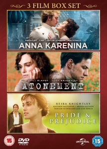 Anna Karenina / Pride and Prejudice / Atonement
