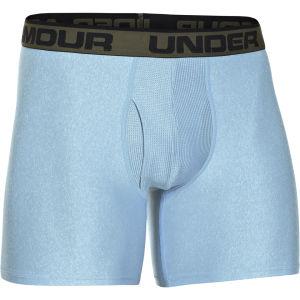 Under Armour Men's Original 6 Inch Seasonal Color Boxerjock - Electric Blue/Rough/Black