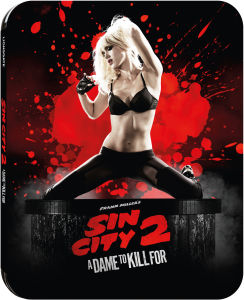 Sin City 2: A Dame To Kill For 3D - Zavvi Exclusive Limited Edition Steelbook