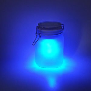 Moon Jar - Blue