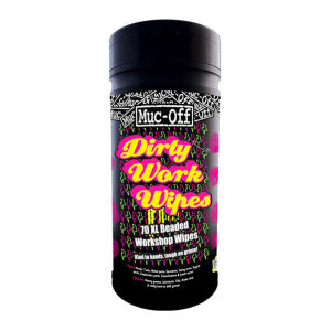 Muc-Off Dirty Work Wipes (Canister of 70)
