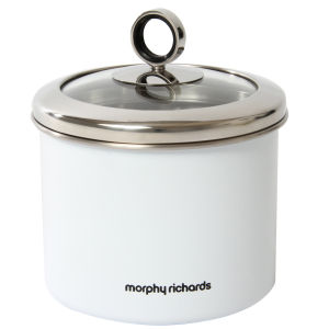 Morphy Richards Accents Small Storage Canister - White