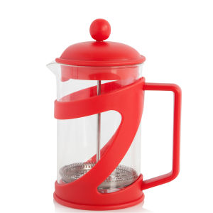 Cook In Colour 6 Cup Cafetiere - Red