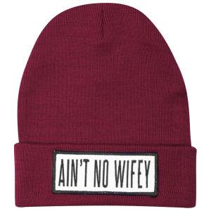 Dimepiece Women's Ain't No Wifey Beanie - Red