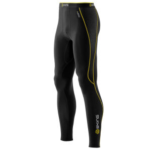 Skins Men's A200 Thermal Long Tights - Black/Yellow