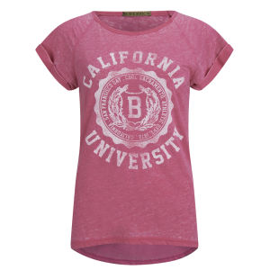 Brave Soul Women's Cali T-Shirt - Pink
