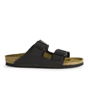 Birkenstock Women's Arizona Slim Fit Double Strap Sandals - Black