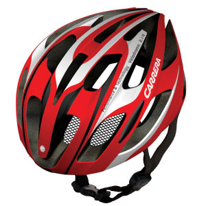Carrera Velodrome 2014 Road Helmet - Gloss Red/White