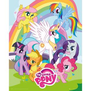 My Little Pony Group - Mini Poster - 40 x 50cm