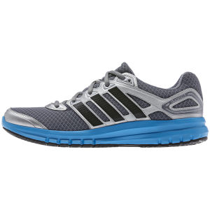 adidas Men's Falcon Elite 3 Running Shoes - Grey/Solar Blue