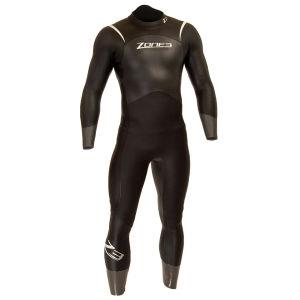 Zone3 Men's Advance Wetsuit -  Black/Grey