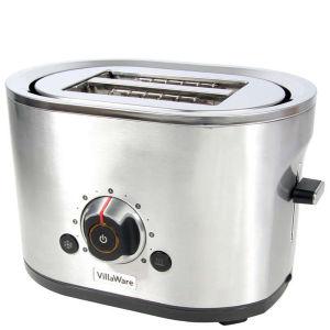 Villaware 2 Slice Stainless Steel Toaster