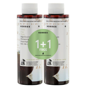 Korres 1+1 Shower Gel Fig 250ml x2