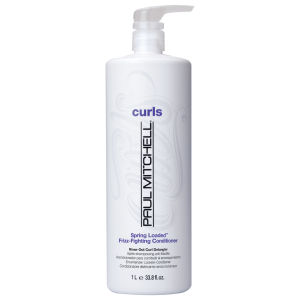 Paul Mitchell Spring Loaded Frizz Fighting Curl Condtioner With Pump 1000ml (Worth £37.75)