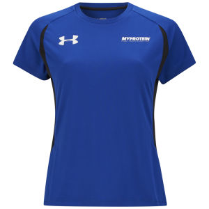 Camiseta de Manga Corta Under Armour® Tech Para Mujer - Azul