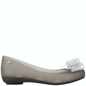 Vivienne Westwood for Melissa Women's Ultragirl 11 Ballet Flats - Smoke Lace Bow