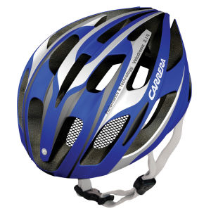 Carrera Velodrome Road Helmet Blue/White