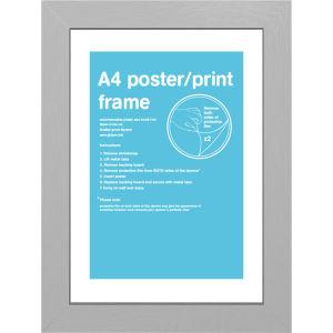 Silver Frame A4