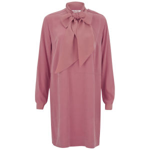 See by Chloe Women's Tie Cape Dress - Pink