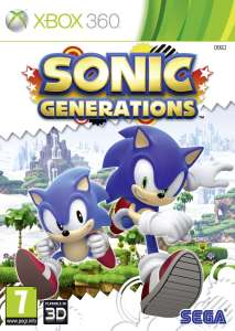 Sonic Generations PAL UK