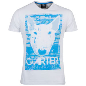 Carter Men's Paint T Shirt - White