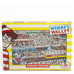 Where's Wally - Railway Station Jigsaw Puzzle (250 Pieces)
