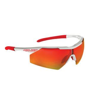 Salice 004 Sports Sunglasses - White/Black