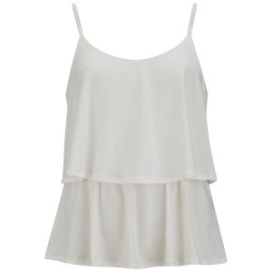 Vero Moda Women's Limit Top - White