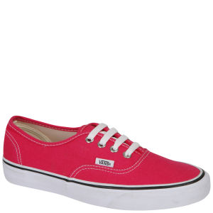 Vans Authentic Canvas Trainers - Bright Rose/True White