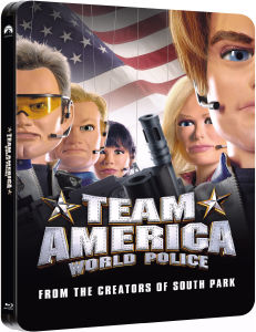 Team America: World Police - Steelbook Exclusivo de Zavvi (Edición Limitada)
