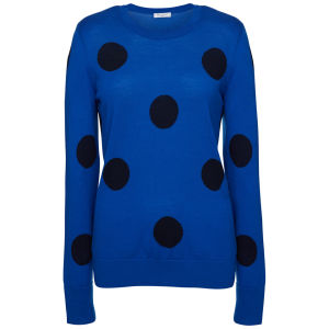 Equipment Women's Peacoat Sweater - Electric Blue