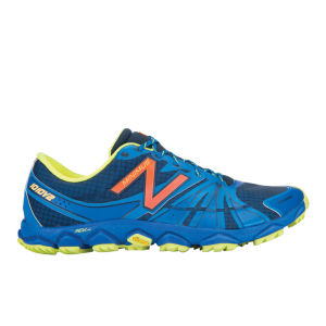 New Balance Men's MT1010 V2 Minimus Trail Shoes - Blue/Yellow