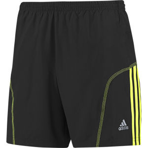 Adidas Men's Response 7 Inch Short - Black/Electricity