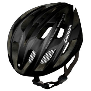 Carrera Velodrome 2014 Road Helmet - Matt Black/Silver