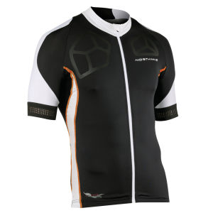Northwave Men's Galaxy Short Sleeve Jersey - Black/White/Orange