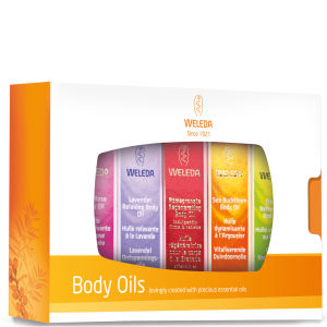 Weleda Mini Body Oils Gift Set (5 Products)