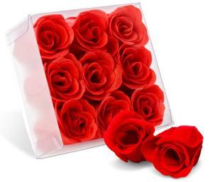 Rose Bath Buds - Red