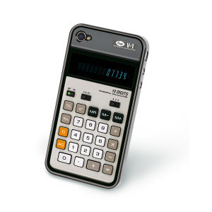 Recover iPhone Case: Retro Calculator