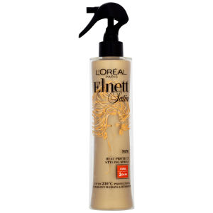 L'Oreal Paris Elnett Satin Heat Styling Spray - Curl (170ml)