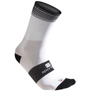 Sportful Polypro Cycling Socks - White/Black