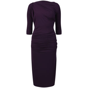 Vivienne Westwood Anglomania Women's 3/4 Shaman Dress - Purple